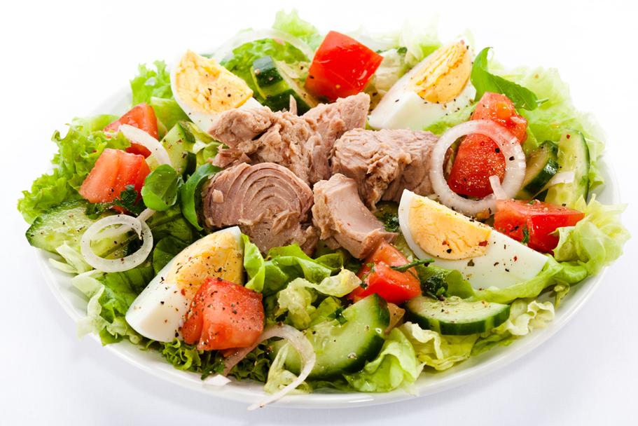 salade met